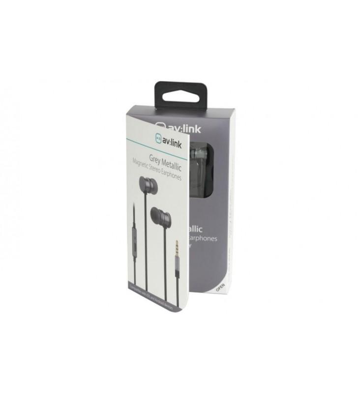 AV Link Magnetic Stereo Earphones