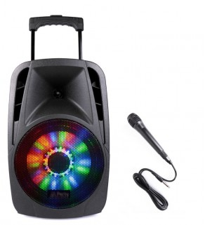 PARTY-8LED, Portable Sound System, Party Light & Sound