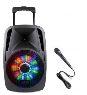 PARTY-8LED, Portable Sound System, Party Light & Sound