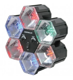 6 Way LED Party Lights