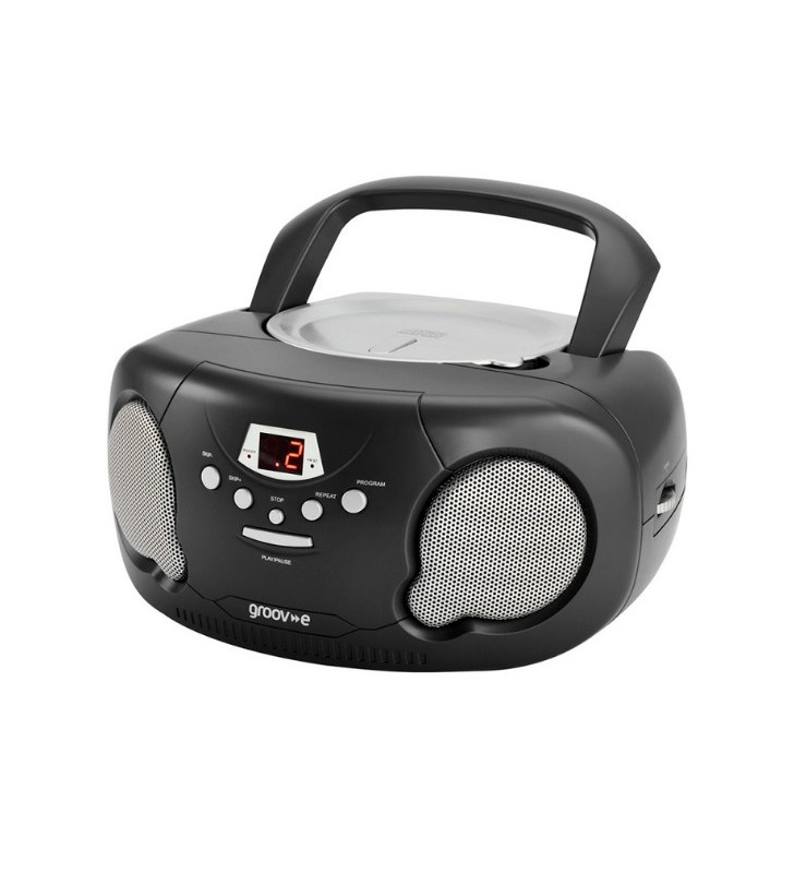 Groove Portable CD Player with Radio