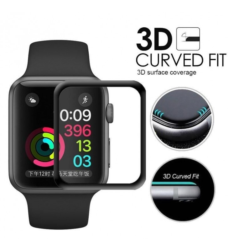 Apple iWatch 3D Full Curve Tempered Glass