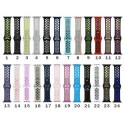 24 Colors Nike Watch Band for Apple iWatch