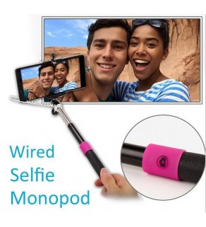 Cable Take Pole Selfie Stick