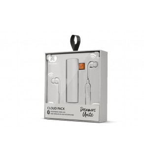 Fresh 'n Rebel Audio Set, Powerbank 3000mAh + Vibe Wireless Headphones