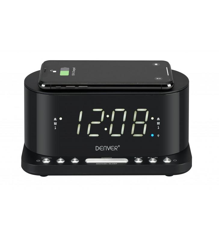 Denver Dual Alarm Clock/Radio