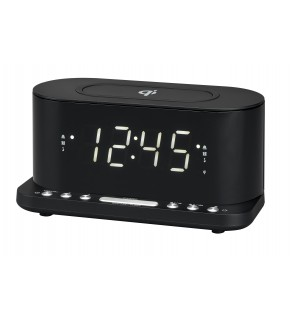 Denver Dual Alarm Clock/Radio
