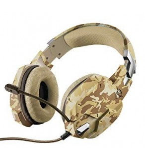 Trust Carus Gaming Headset - Jungle Camo