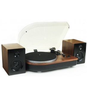 Steepletone Camden Record Player with Bluetooth