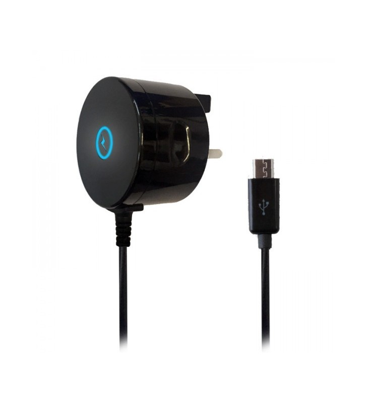 Iglow micro usb mains charger