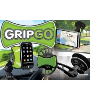 GripGo Universal Car Phone Mount