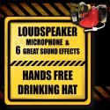 Megaphone Drinking Hat