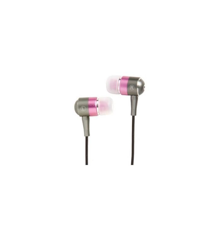 Groov-e Metal Buds Stereo Earphones