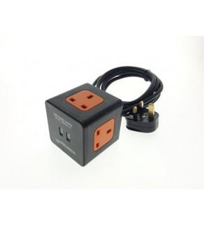 Cube Extension Socket