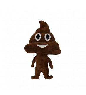 "Emoji Doll ""Poo"" Cushion"