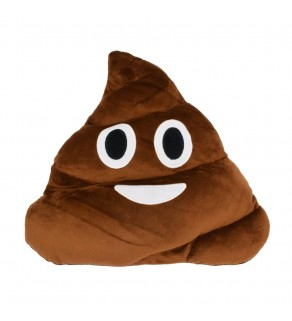 Emoji Poo Shape Pillow Cushion