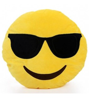 Emoji Cool Dude Pillow Cushion