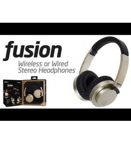 Groov-e Fusion Wireless and Wired Stereo Headphones