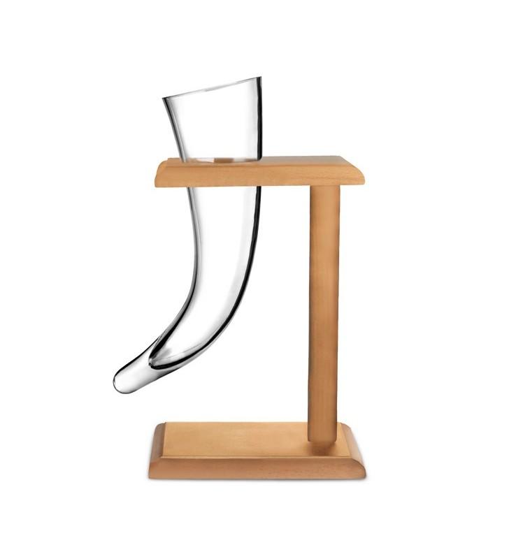 Viking Beer Horn Glass