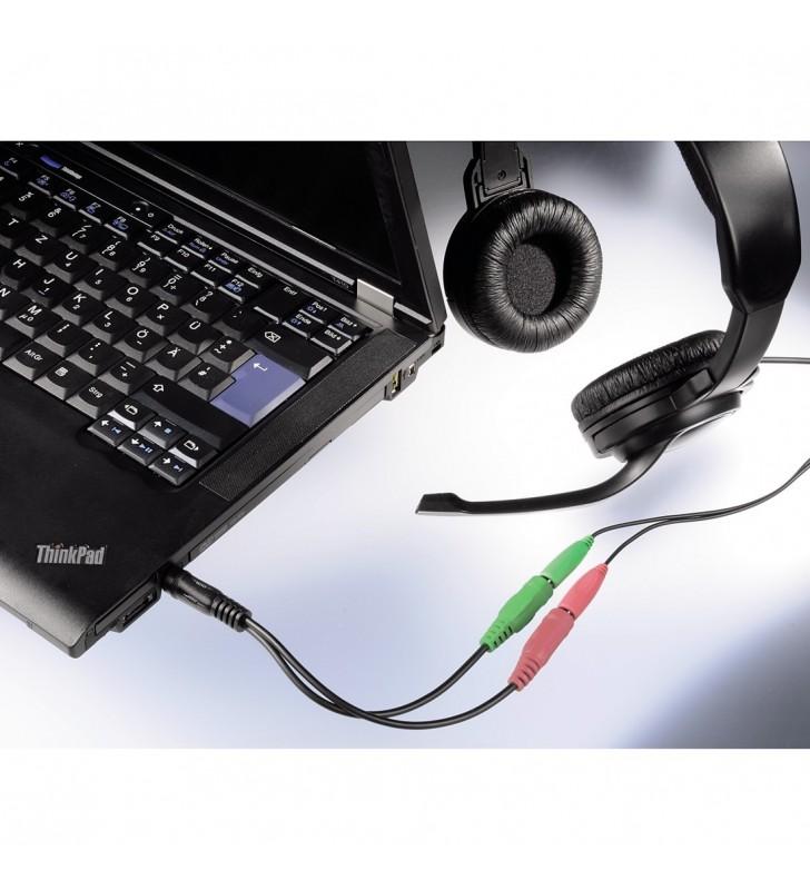 Hama Jack Adapter 3.5mm Plug 2x 3.5mm Socket