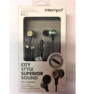 Intempo City Style Superier Sound Earphones