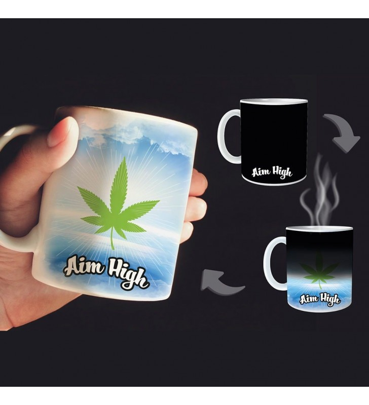Aim High Heat Change Mug