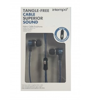 Intempo Tangle Free Superier Sound Earphones