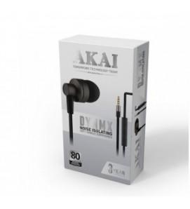 Akai Noise Isolating In Ear Earphone