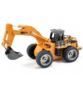 Huina 1:18 Excavator with Die Cast Bucket