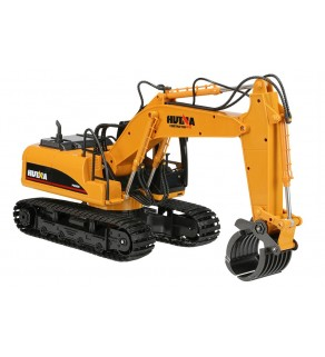 Huina 1:14 Excavator with Die Cast Bucket