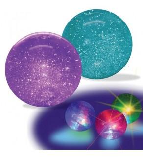 Light Up Glitter Squeeze Ball