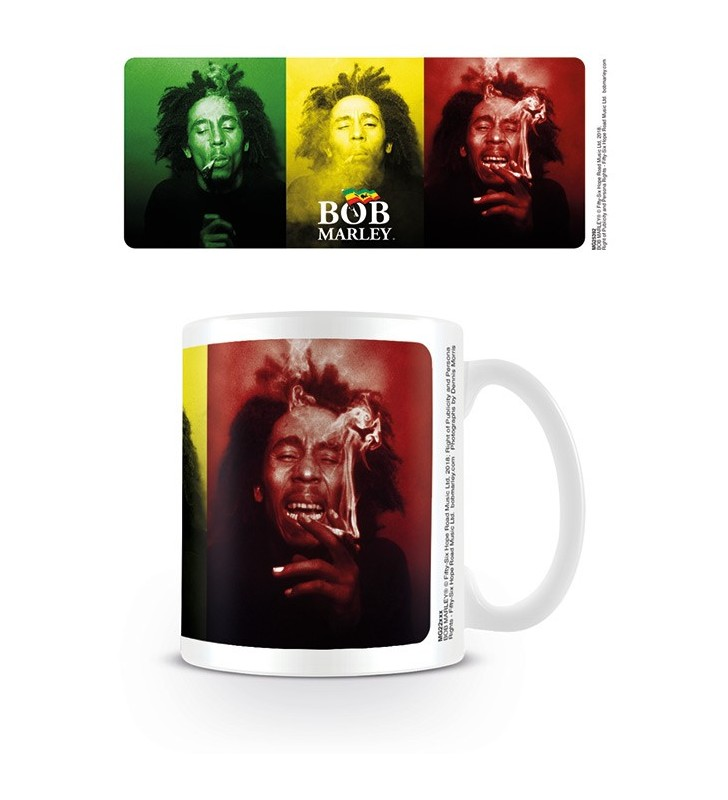Bob Marley Tri-Colour Mug