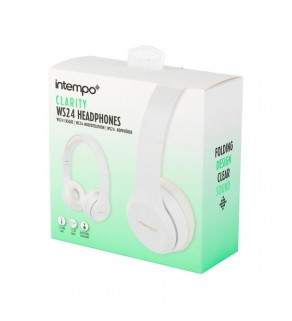 Intempo Folding Clarity Headphones