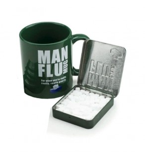 Man Flu Mug & Mints Gift Set