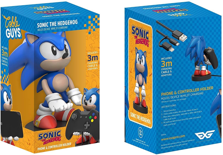 Gadget Man Ireland Sonic The Hedgehog Phone And Controller Holder