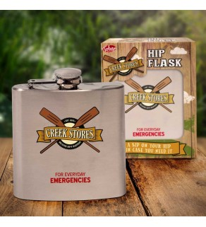 Creek Stories Hip Flask