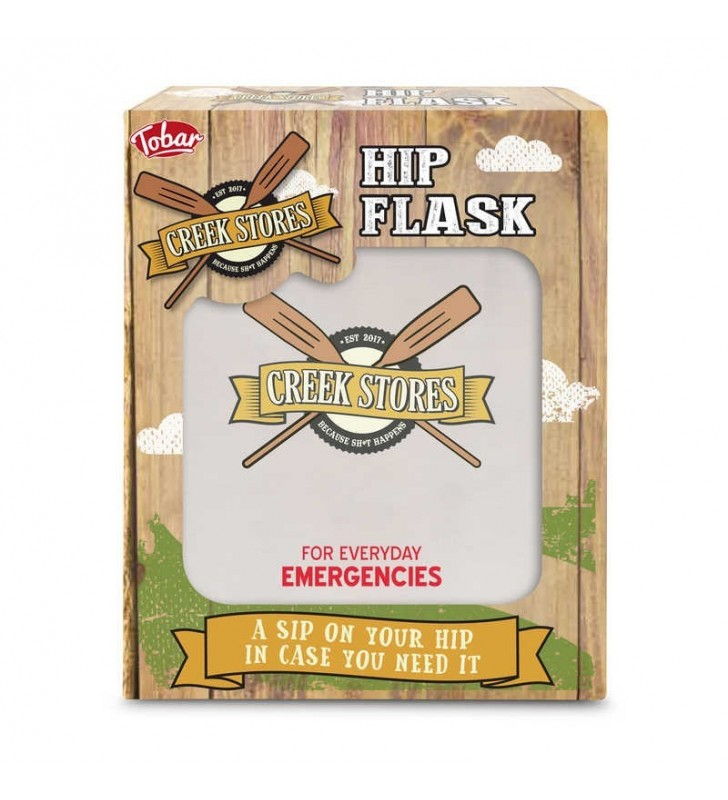 Creek Stories Hip Flask