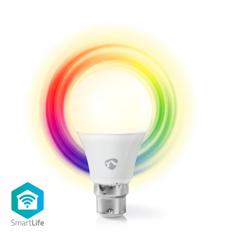 WiFi Smart LED Bulb   Full Colour and Warm White   E27