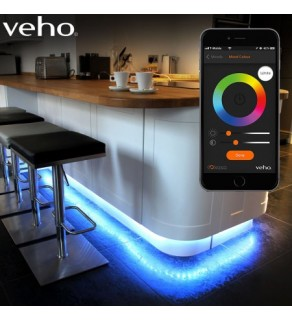 Veho Kasa 3m LED Smart Strip Lighting Kit