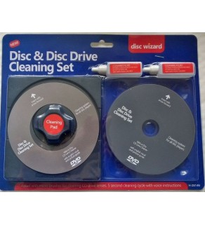 Disc & Disc Drive Cleaning Set