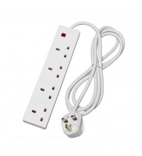 4 Socket Extension Lead