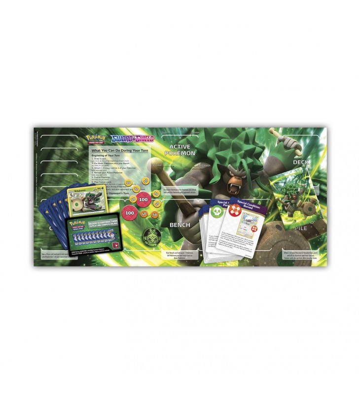 Pokémon TCG: Sword & Shield Rillaboom Theme Deck