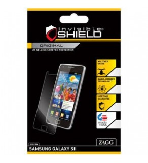 invisable Shield Samsung S2 Protection