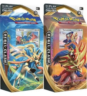 Pokemon Sword and Shield Rebel Clash Theme Deck