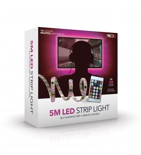 5 meter LED RGB Strip Lights
