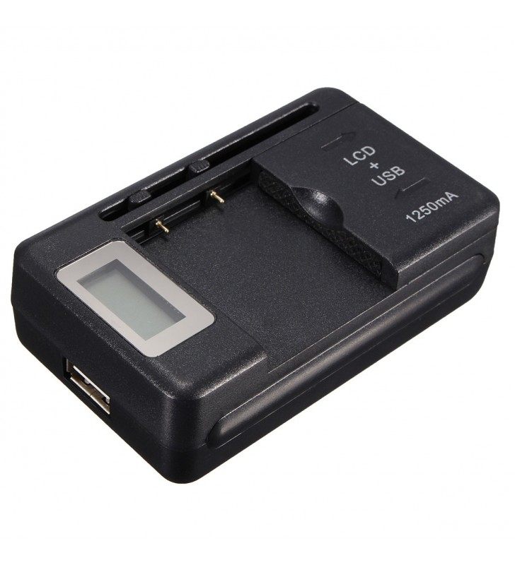 LCD Universal Battery Charger