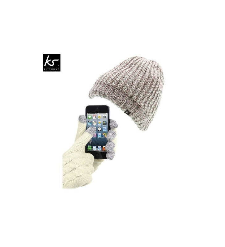 Audio Beanie & Touchscreen Gloves