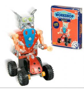 Workshop Pull Back & Go Robot
