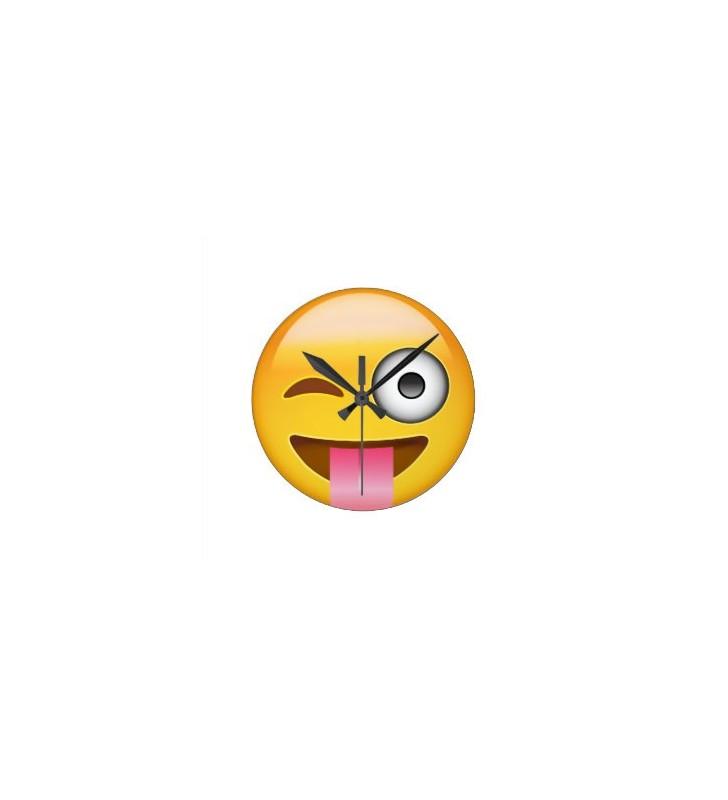 Emoji Face Clock