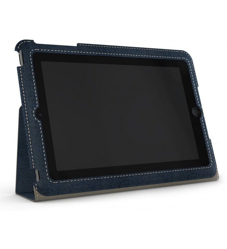 XtremeMac Micro Folio Denim Case for iPad Mini - Blue